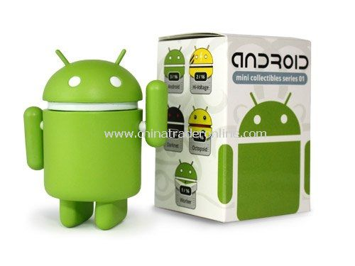 Android Robot Plush Doll Toy