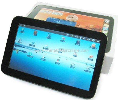 Fashionable Wifi Tablet Notebooks with Google Android OS 1.6 Supports GPS