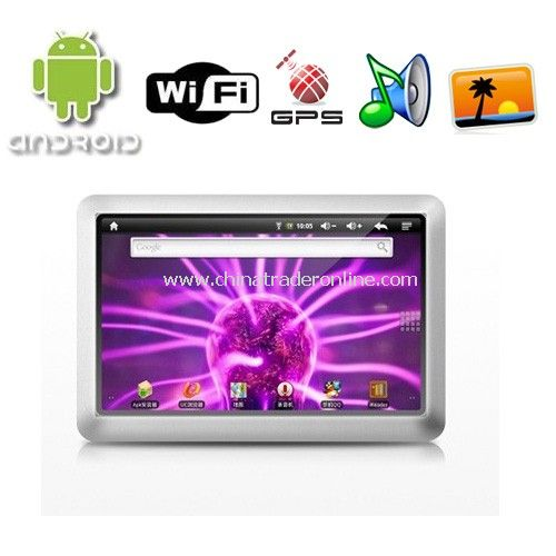 Google Android 2.1 OS Ramos T11AD Tablet PC Support WiFi and 8GB Storage