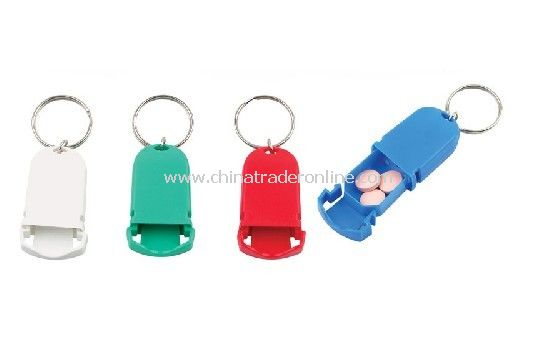 Pill Case Key Chain from China