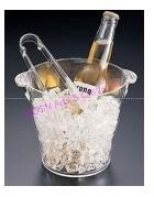 Acrylic Ice Bucket, Acrylic Wine Holder