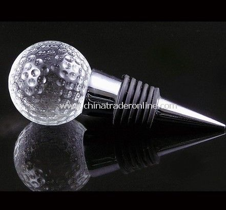 Crystal Stopper Golf Shape