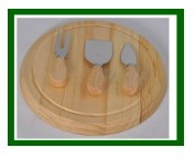 Bamboo Cheese Cutting Board Set from China