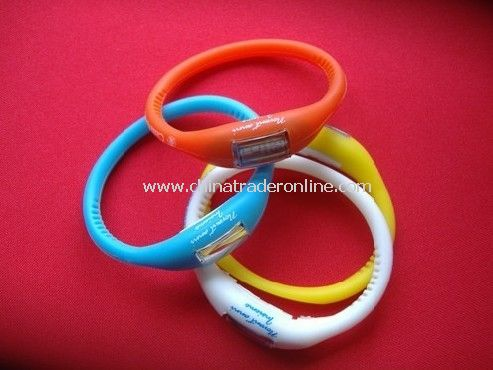 Ion Silicone Watches
