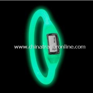 Fluoresecent silicone watches