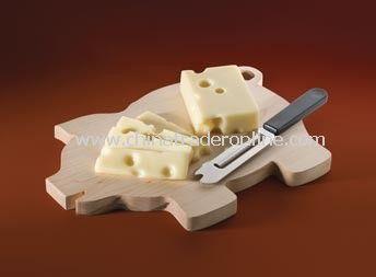 Wood Piggy Cutting Board from China