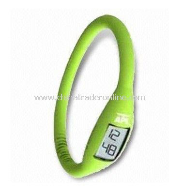 Anion Silicone Rubber Wristband Digital