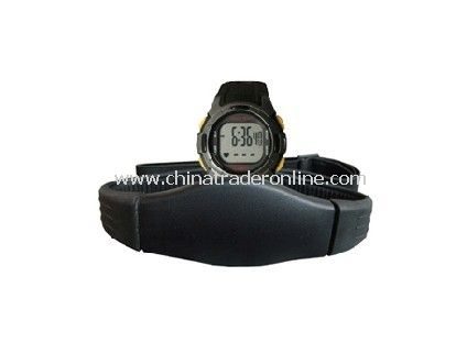 Heart Rate Monitor with Chest Belt