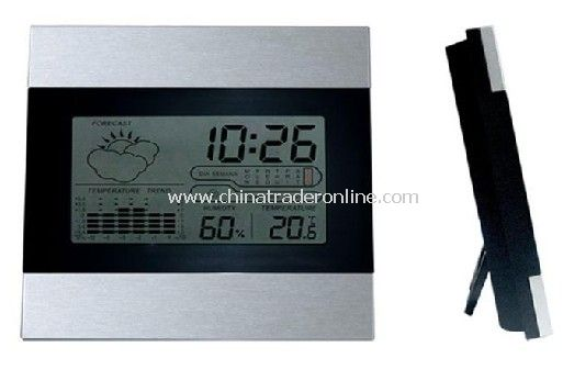 LCD Calendar Clock with Weather Station Function