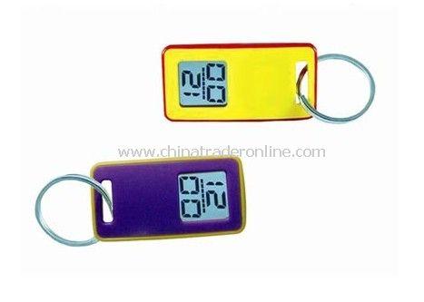 LCD Keychain Clock