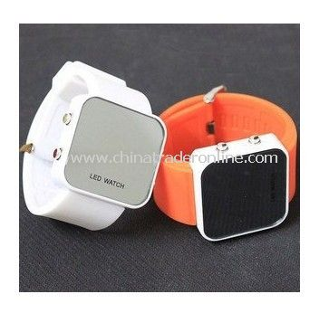 LED Display Fashion Watch--LED Silicone Watch,Silicone Sport Watch from China