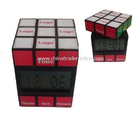 Novelty Magic Cube Clock