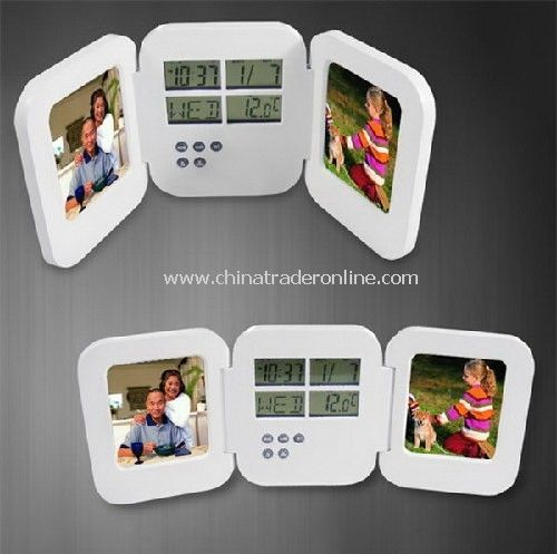 Pocket Photo Frame Clock