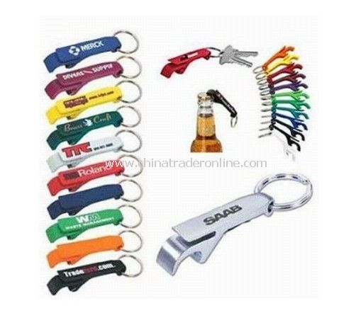 Aluminium Bottle Openers with Key Chain