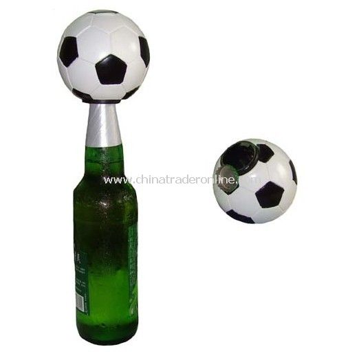 Football Shape Push-up Bottle Opener