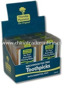 Toothpicks/Chewing Sticks from China