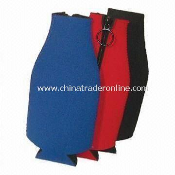 Beer Bottle Cooler/Koozie, Made of Neoprene, Keeps Drink Chilled from China
