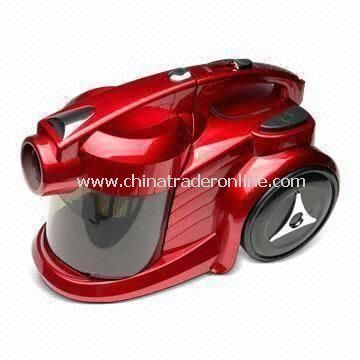 Cyclone Vacuum Cleaner, Available in Voltage of 100 to 240V, 50 to 60Hz of Frequency