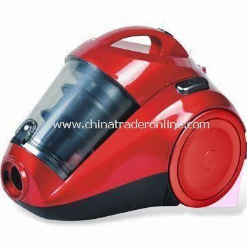 HEPA Central Filtration Vacuum Cleaner with 360° Swivel Hose, High Efficiency