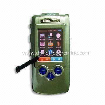 Law Enforcement Alcohol Tester with Built-in/Detachable Thermal/Dot Matrix Printer
