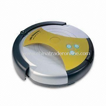 Robotic Home Vacuum Cleaner with Remote Controller, Auto-charging Station and Virtual Wall Detector