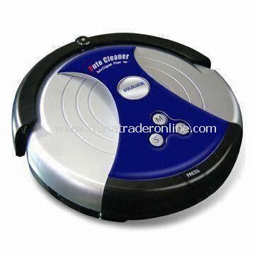 Robotic Intelligent Vacuum Cleaner with Virtual Wall Detector