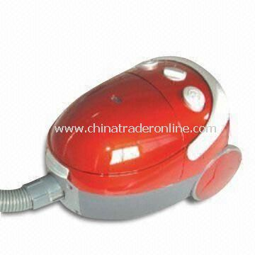 Room Vacuum Cleaner with Changeable Dust Bag and Pedal Switch, Easy to Store