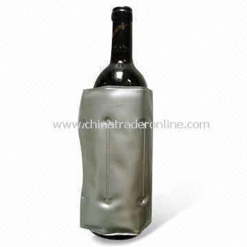 Wine Bottle Cooler, Made of PVC and Nylon, Keeps Drinks/Beverage Cool, Fresh and Tasty