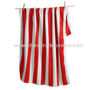 Cabana Striped Beach Towel from China