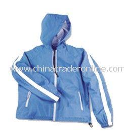 Ladies Micro Poly Hooded Jacket