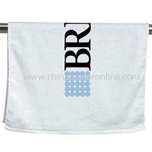 Large Hemmed Towel