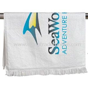 Large Velour/Terry Sport Towel - Imported from China