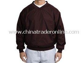 Sport-Tek - Nylon V-Neck Wind Shirt