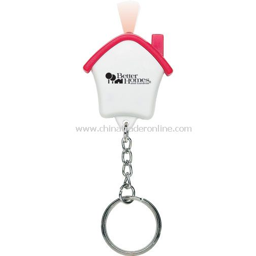 House Key Tag w/LED Light