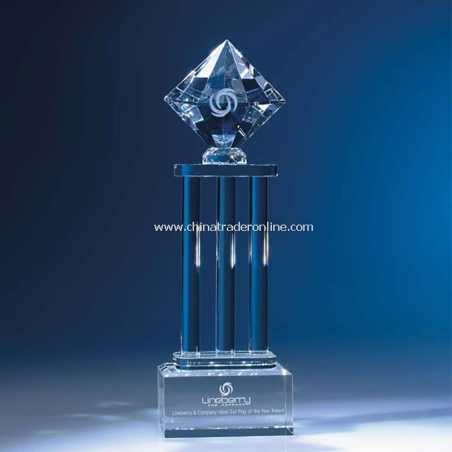 Diamond Pedestal Award