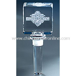 Image 3 Crystal(TM) Square Wine Bottle Stopper |
