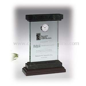 Jade Forum Award with Timepiece
