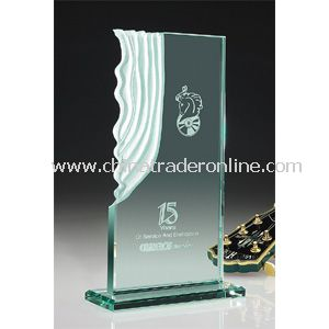 Jade Sculpted Waterfall Award | Jaffa