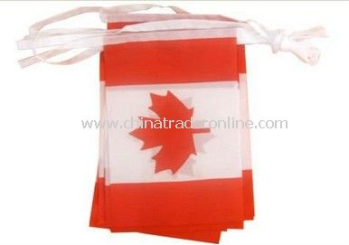 190T bunting flag advertising bunted flag