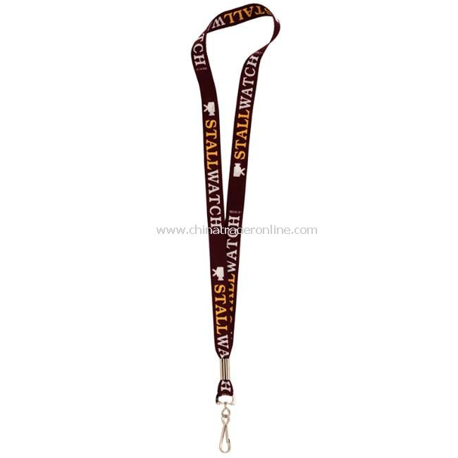 3/4inch Sublimated Lanyard with J-Clip
