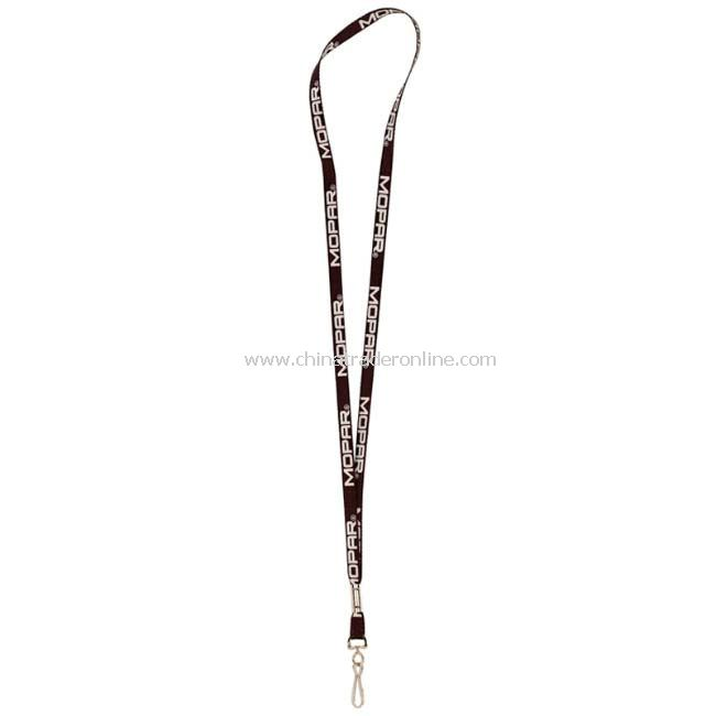 3/8inch Recycled Sublimated Lanyard with J-Clip