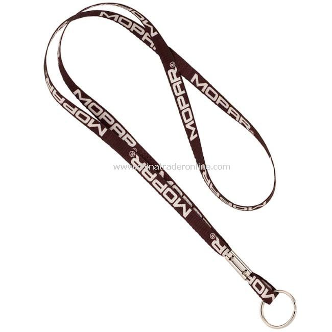 3/8inch Recycled Sublimated Lanyard with Split Ring