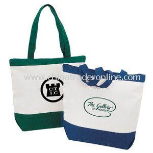 Bagley Canvas Zipper Tote