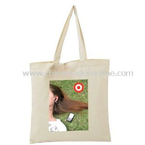 Daisy Canvas Tote Bag