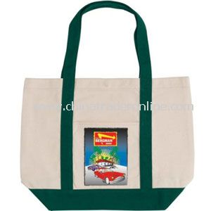 St. Marteen Canvas Tote Bag