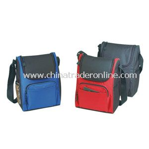 DELUXE INSULATED POLY LUNCH BAG from China