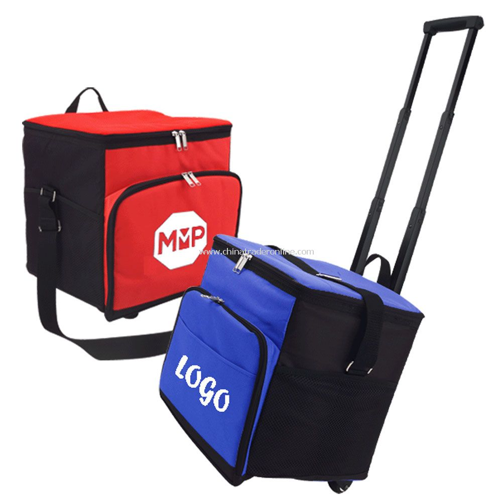 Insulated 36-Pack Wheeled Cooler Bag