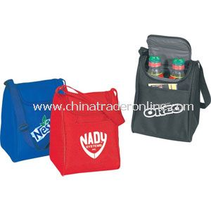 INSULATED POLY LUNCH BAG