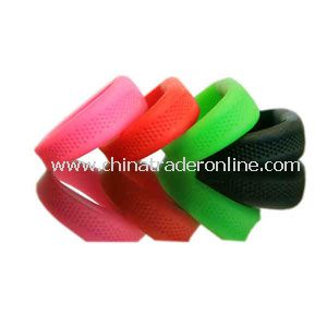 Promotional Silicone wristband bracelet with a 512MB USB flash drive inside