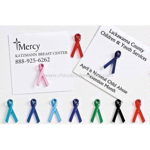 Standard Loop Awareness Ribbon Lapel Pin